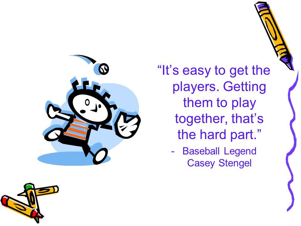 Baseball Legend Casey Stengel