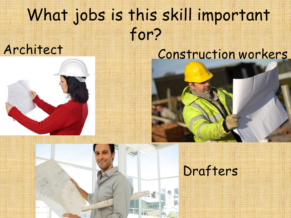 What jobs is this skill important for
