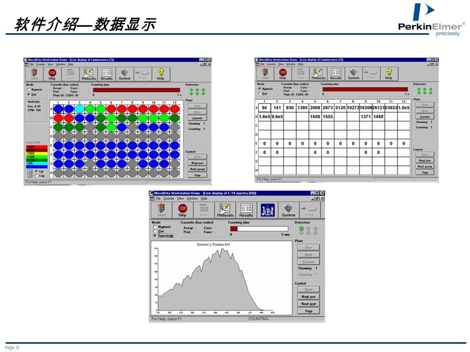 软件介绍—数据显示 Page 13