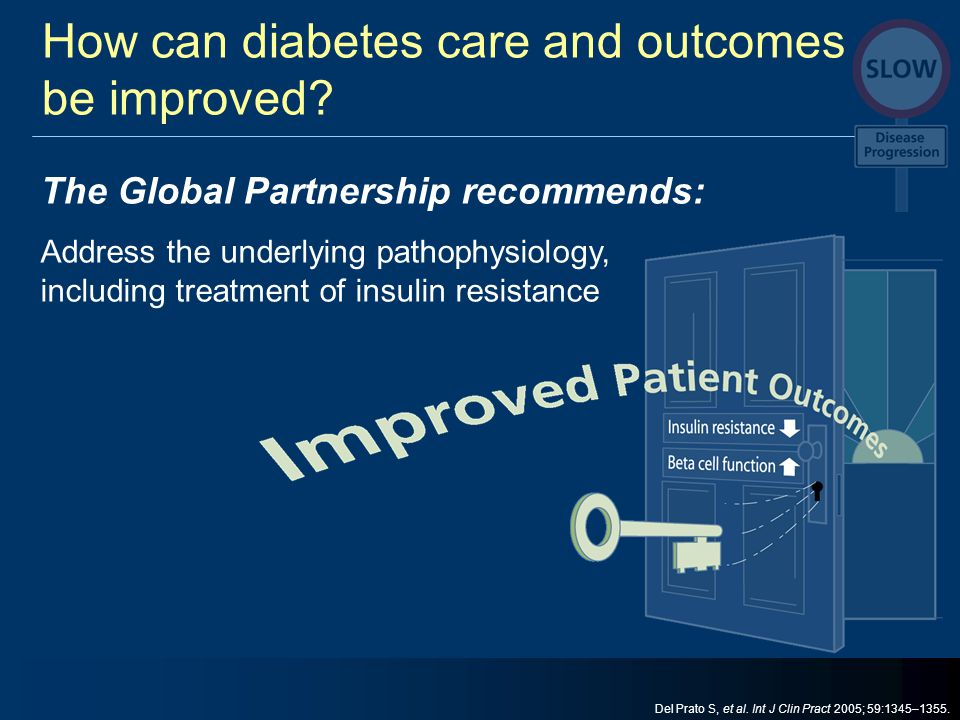 How can diabetes care and outcomes be improved