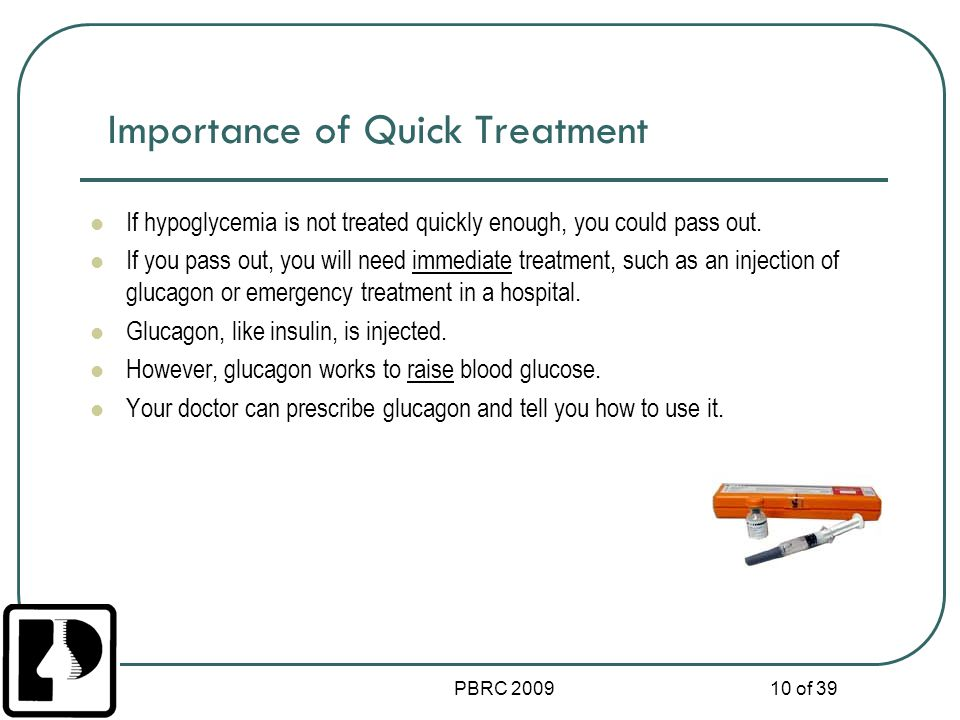 Importance of Quick Treatment