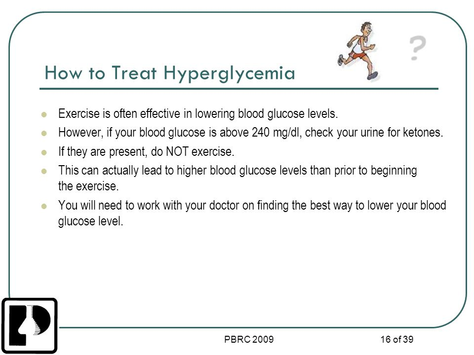 How to Treat Hyperglycemia
