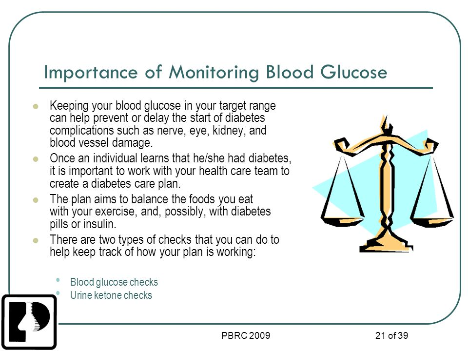 Importance of Monitoring Blood Glucose