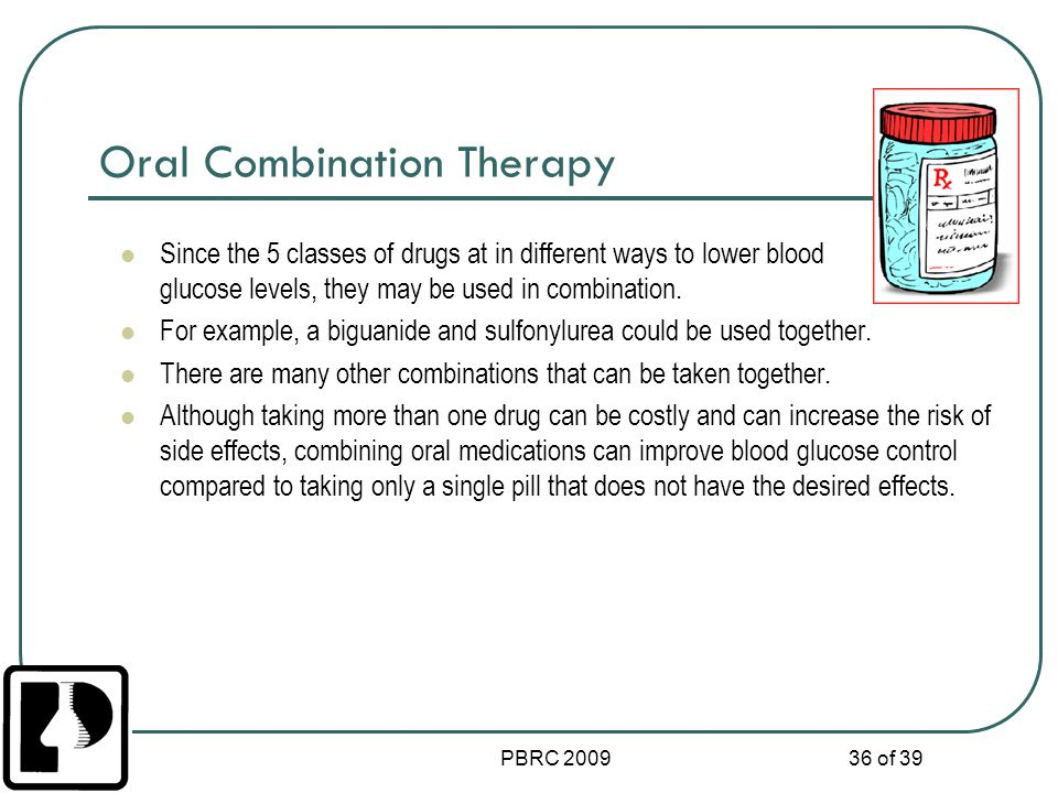 Oral Combination Therapy