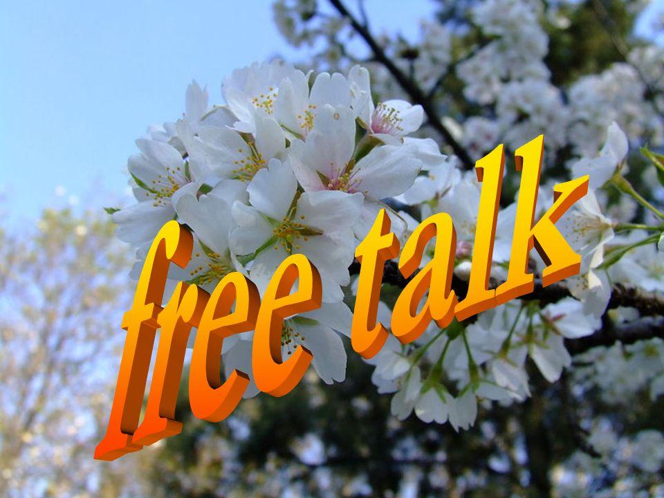 ★ free talk ★ ☆ ☆