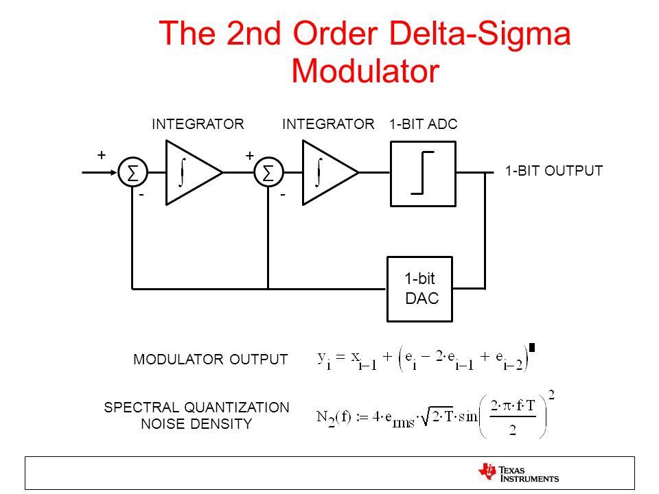 The 2nd Order Delta-Sigma Modulator
