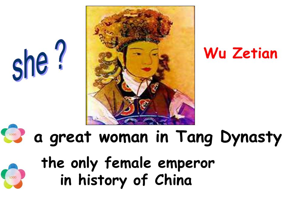 a great woman in Tang Dynasty