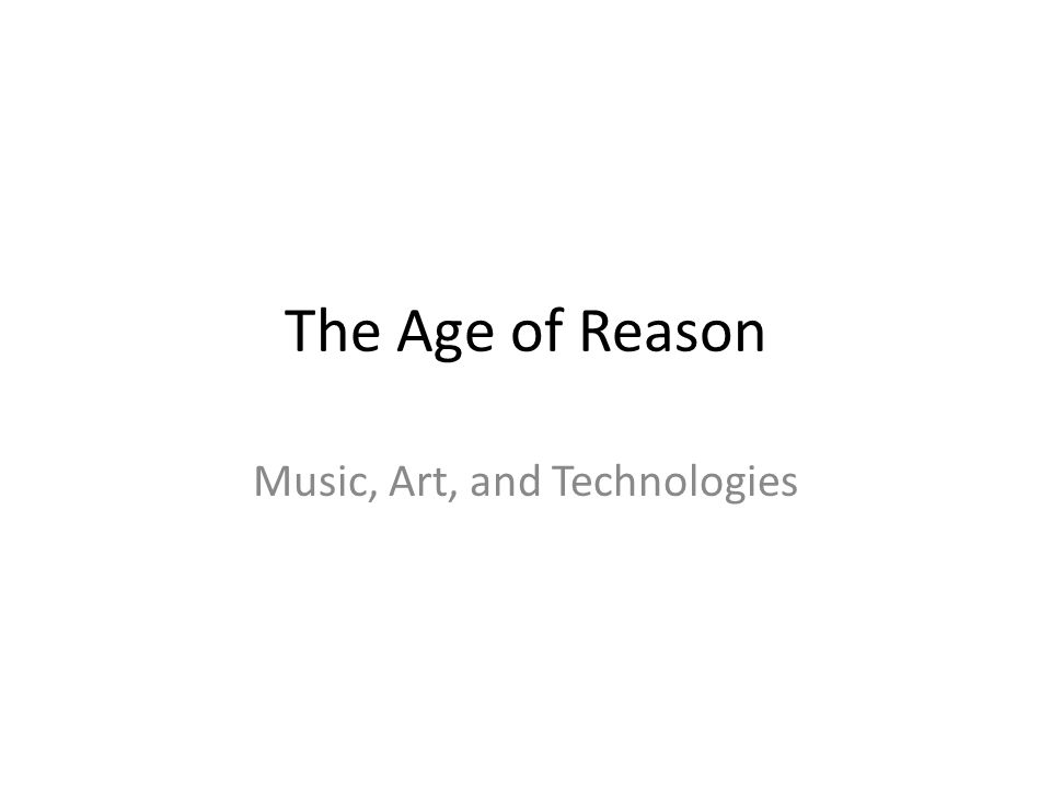 Music, Art, and Technologies