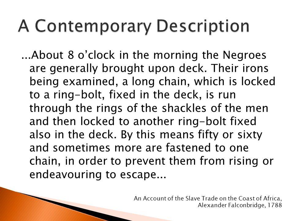 A Contemporary Description