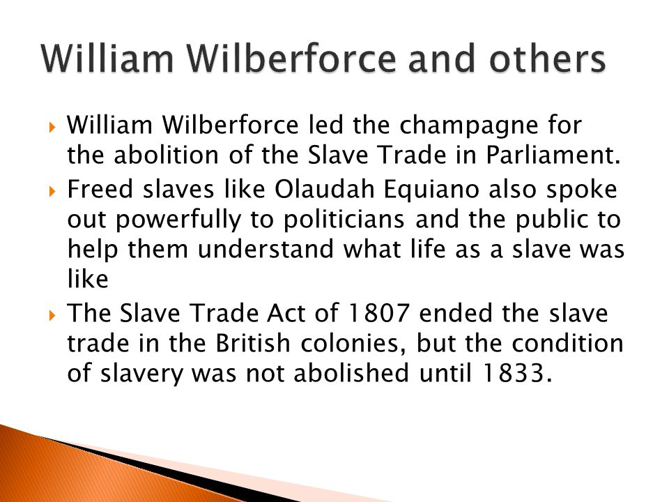 William Wilberforce and others