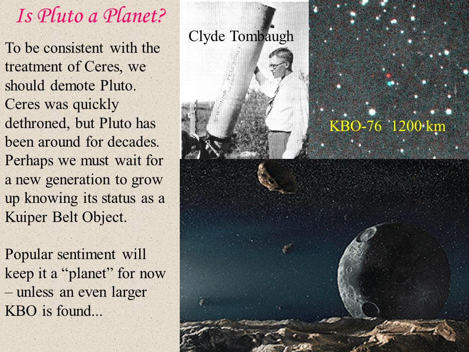 Is Pluto a Planet Clyde Tombaugh