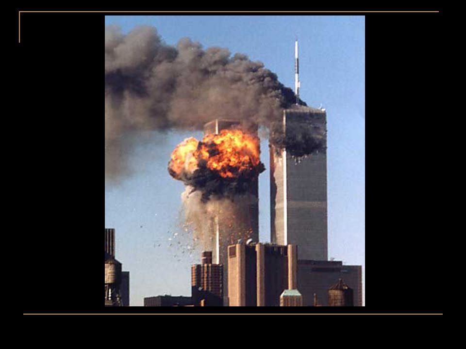 On Sept. 11 the Twin Towers received a body blow by a terrorist