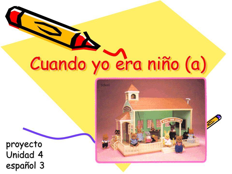 proyecto Unidad 4 español 3