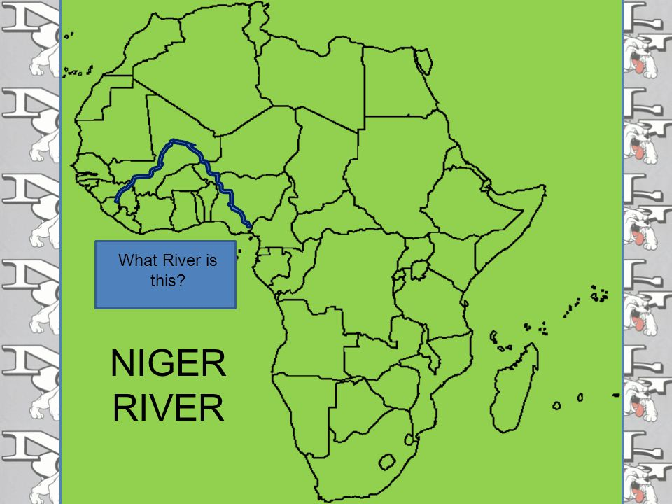 What River is this NIGER RIVER