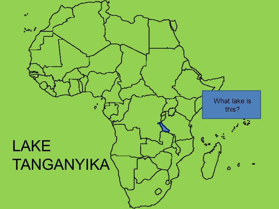 What lake is this LAKE TANGANYIKA