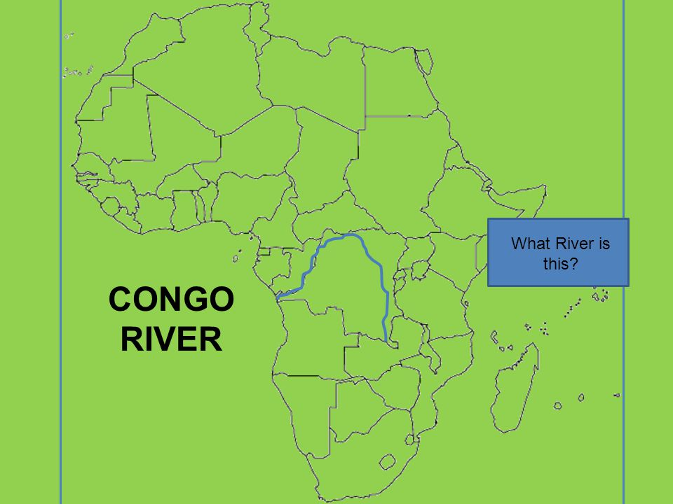 What River is this CONGO RIVER