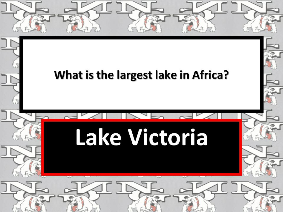 What is the largest lake in Africa