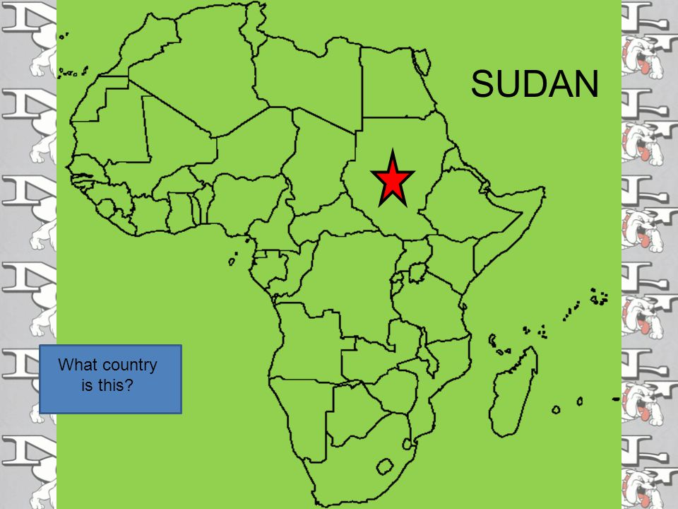 SUDAN What country is this