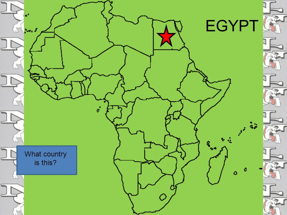 EGYPT What country is this