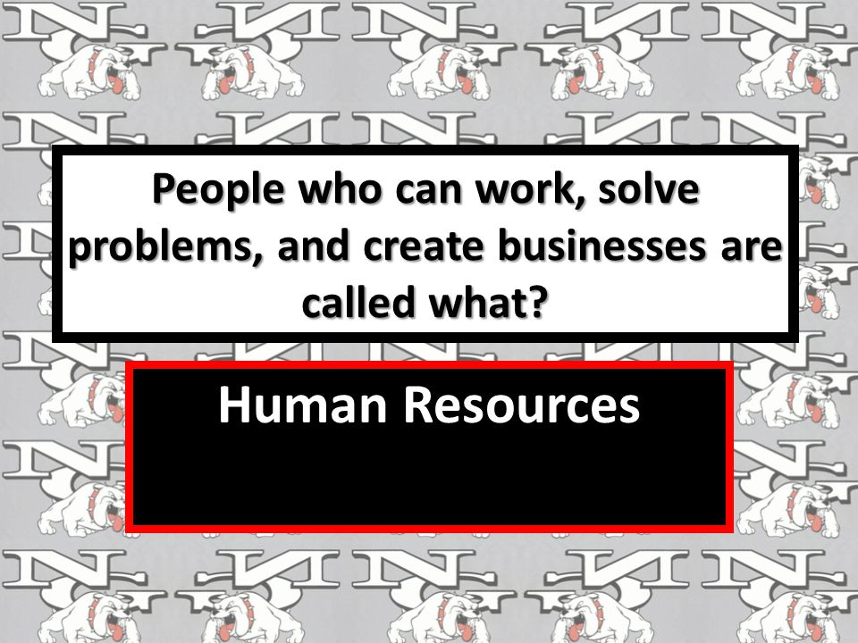 People who can work, solve problems, and create businesses are called what