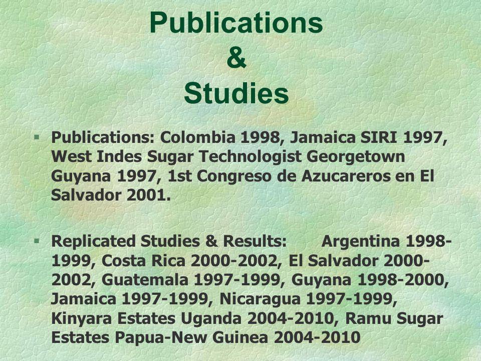 Publications & Studies