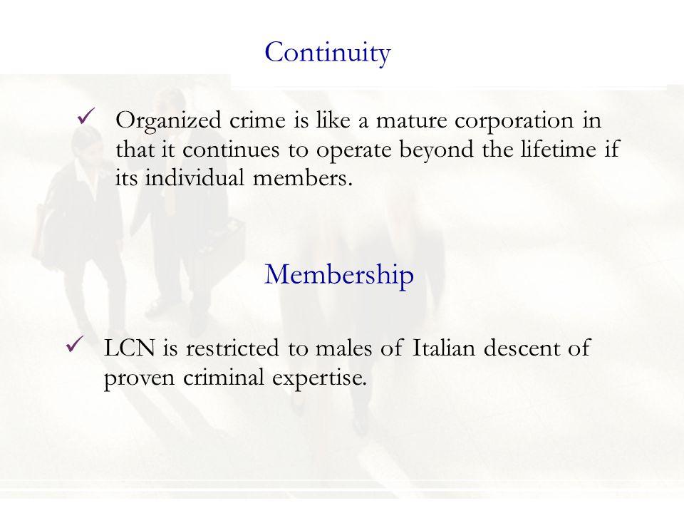 Continuity Membership