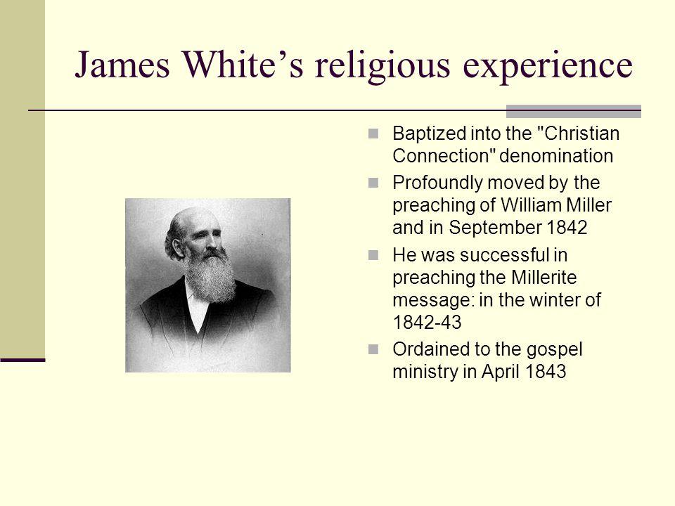 James White's religious experience