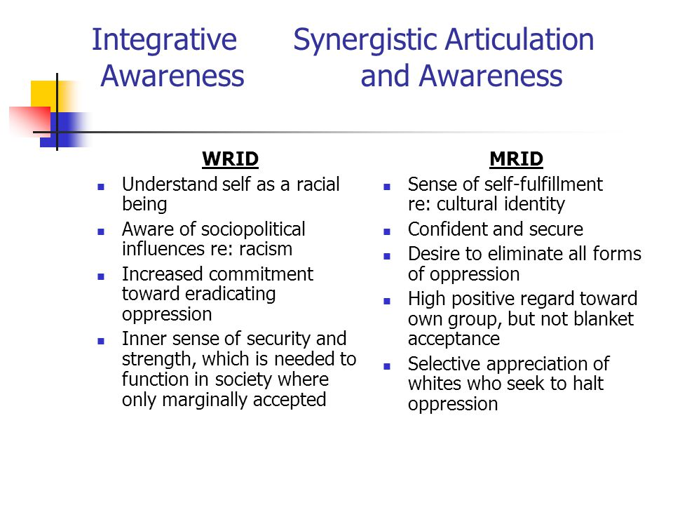 Integrative Synergistic Articulation Awareness and Awareness