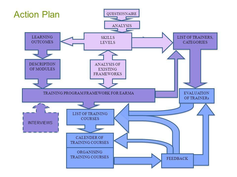 Action Plan ANALYSIS LEARNING OUTCOMES SKILLS LEVELS