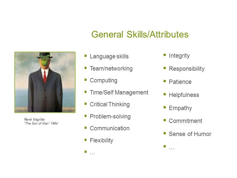 General Skills/Attributes
