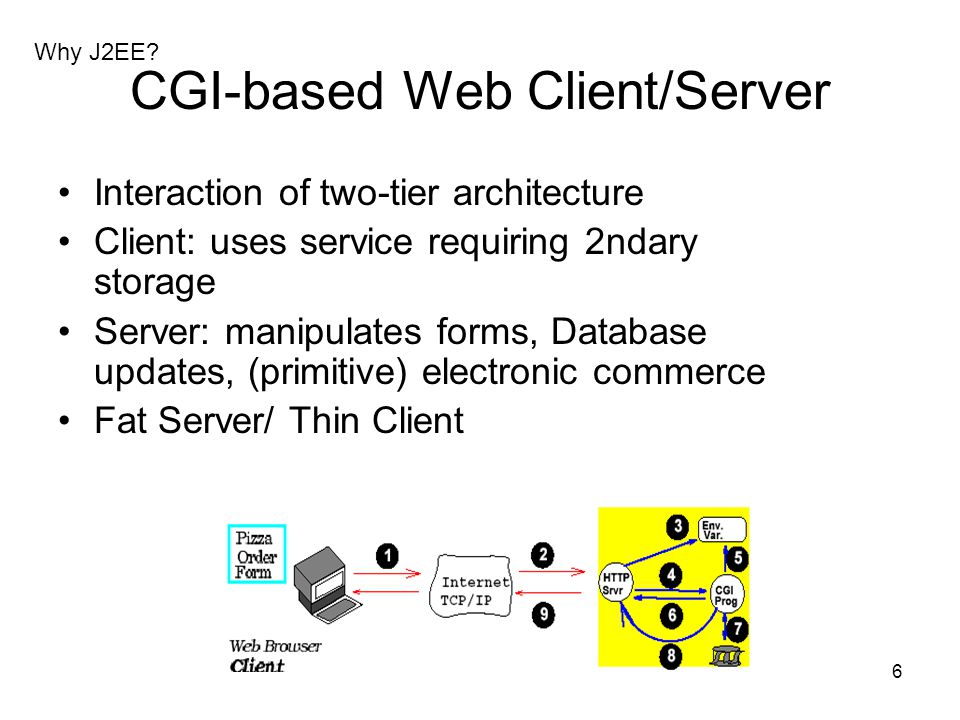 CGI-based Web Client/Server