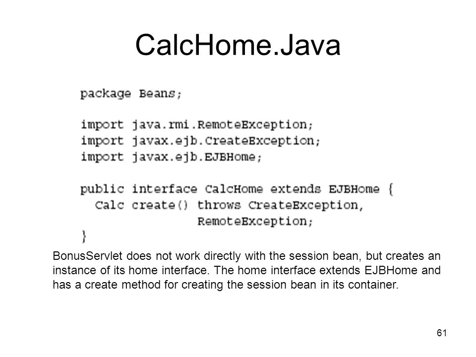 CalcHome.Java