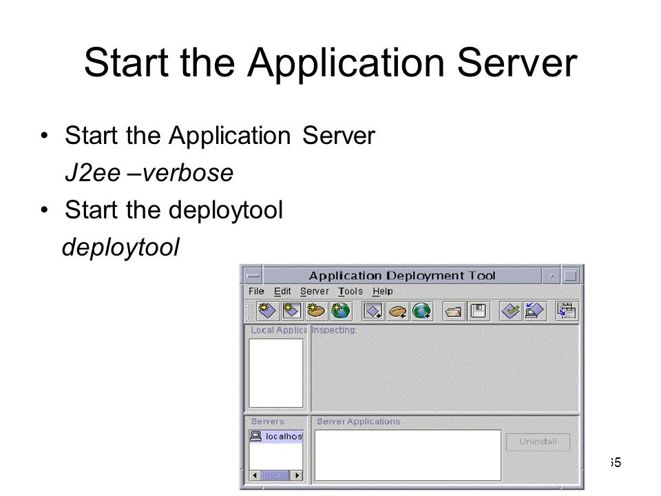 Start the Application Server