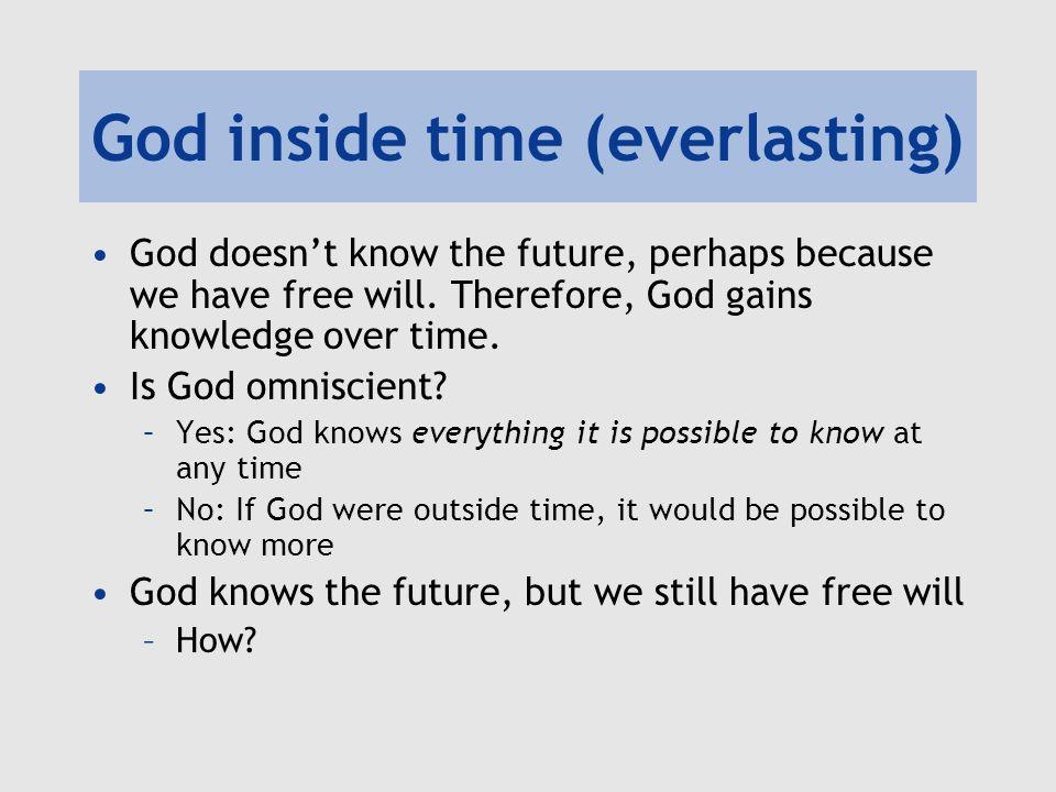 God inside time (everlasting)