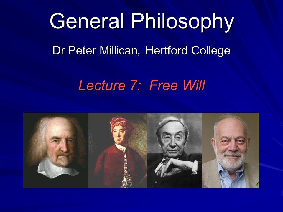 Dr Peter Millican, Hertford College