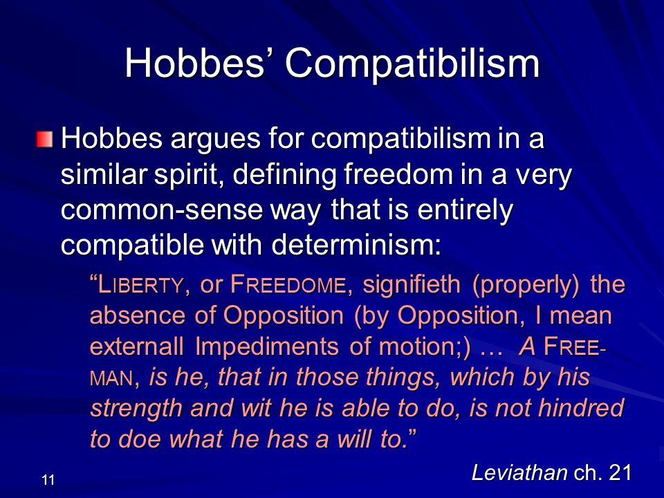 Hobbes' Compatibilism