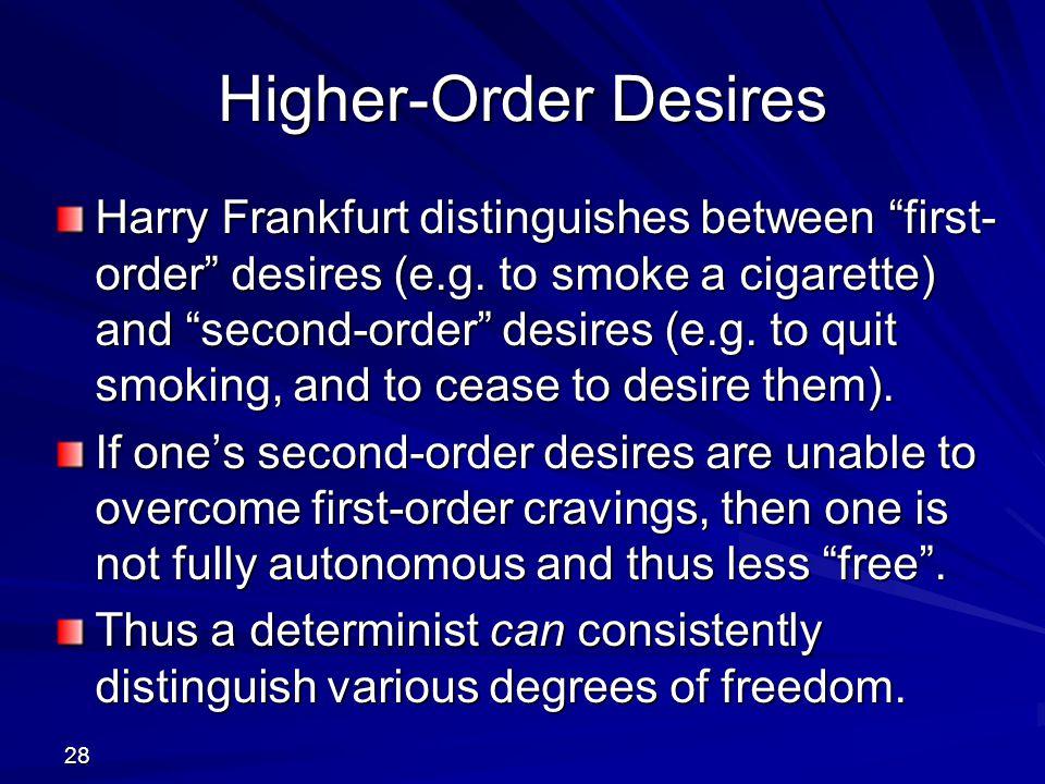 Higher-Order Desires