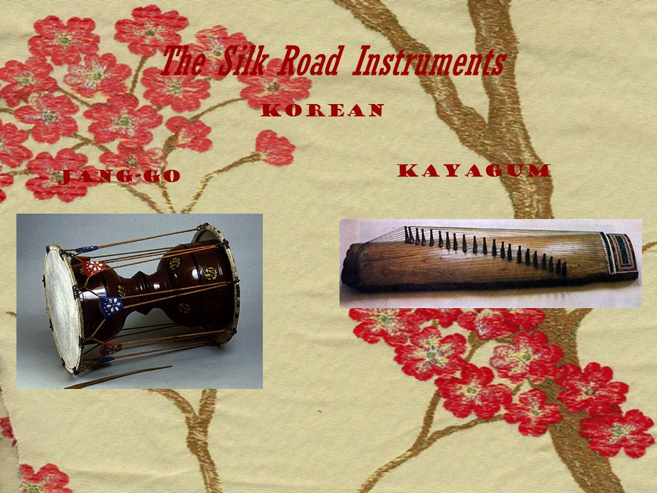 The Silk Road Instruments