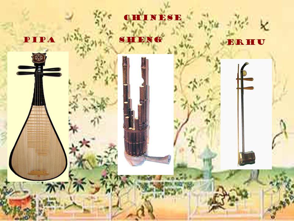 Chinese Pipa Sheng Erhu