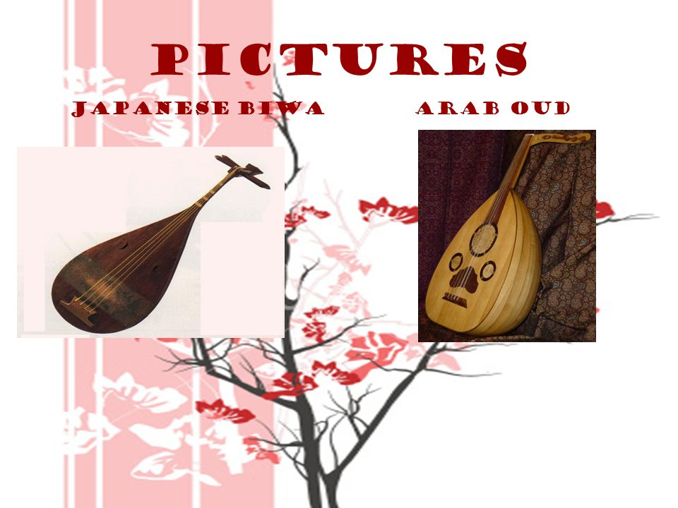 Pictures Japanese biwa Arab Oud P