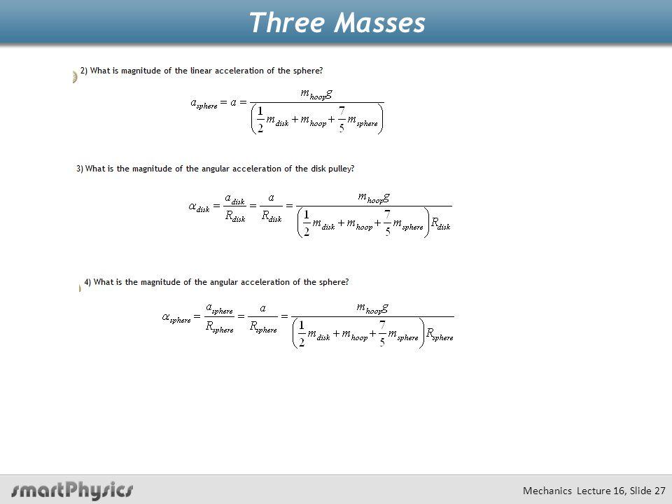 Three Masses
