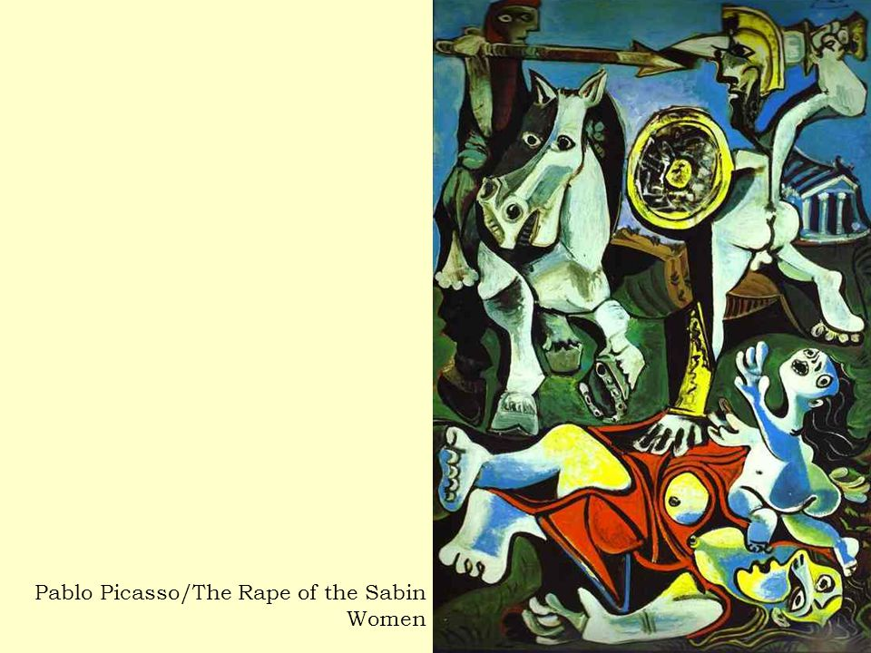 Pablo Picasso/The Rape of the Sabin Women