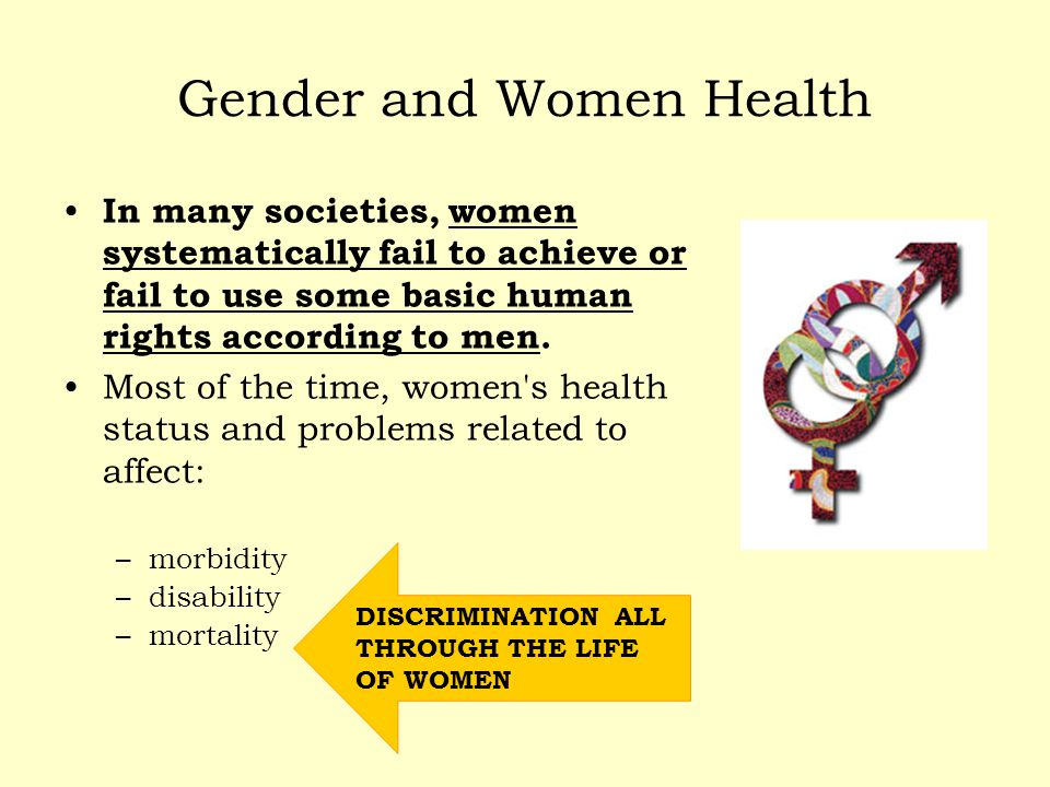 Gender and Women Health