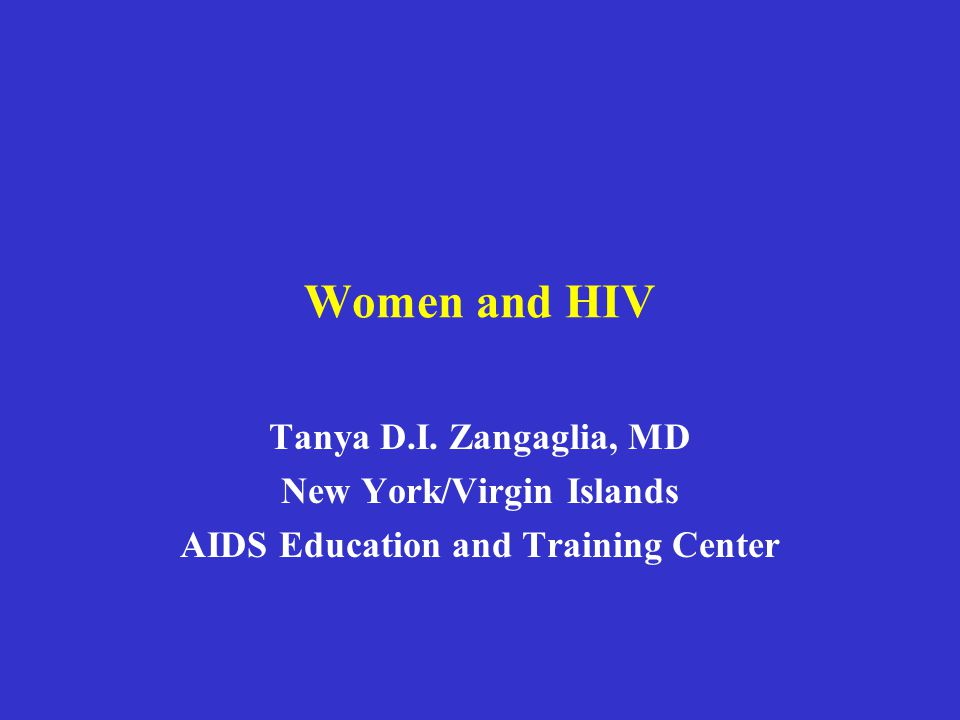 New York/Virgin Islands AIDS Education and Training Center