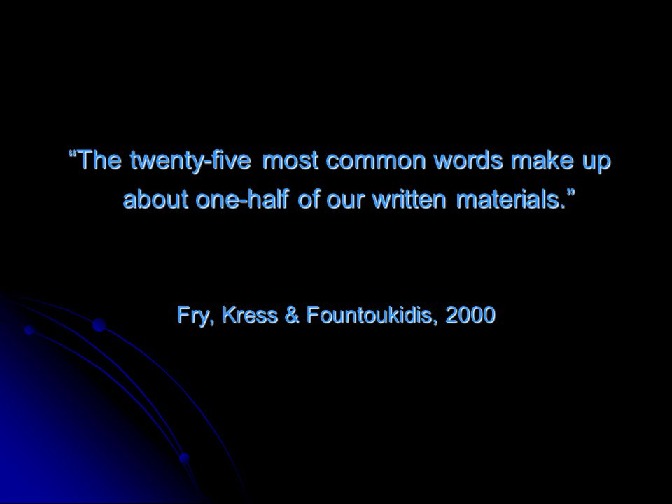 Fry, Kress & Fountoukidis, 2000