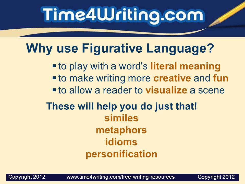 Why use Figurative Language These will help you do just that!