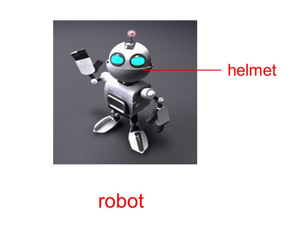 helmet robot