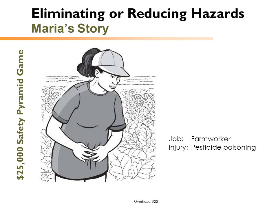 Eliminating or Reducing Hazards Maria's Story