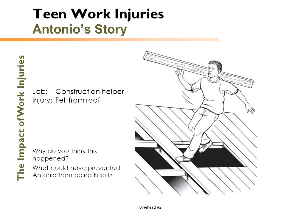 Teen Work Injuries Antonio's Story
