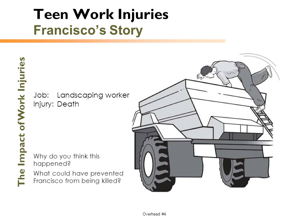 Teen Work Injuries Francisco's Story